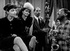 film black and white dance vintage 40s