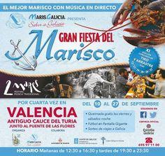 Gastronomía de Galicia en la Gran Fiesta del Marisco 2015 - http://www.valenciablog.com/gastronomia-de-galicia-en-la-gran-fiesta-del-marisco-2015/