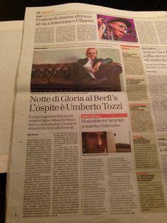 8/11/2013 Umberto Tozzi ospite al BERFIS Club di Verona.  #UmbertoTozzi #guest at #berfisclub #star #italian #singer