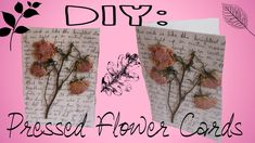 DIY Pressed Flower Card