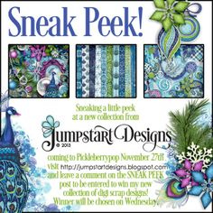 OH MY!!!! SO GORGEOUS!!  Win it here at Jumpstart Designs: SNEAK PEEK~ Comment to win new collection! @Jumpstart Designs by Sheri