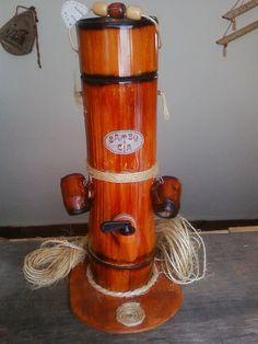 Porta Caipirinha com tampa - da BamBooZeira - Design http://bamboozeira.blogspot.com