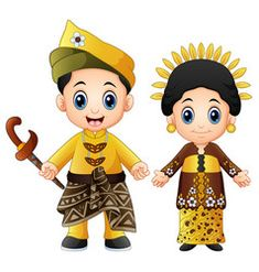 Illustration about Illustration of Cartoon malaysia couple wearing traditional costumes. Illustration of illustration, flower, greeting - 108011233 Coloring For Kids, Coloring Books, Poster Drawing, Cute Profile Pictures, Art Of Man, Step Kids, Cartoon Kids, Drawing For Kids, Art Tutorials