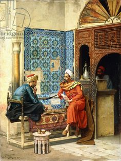 Arab Men And The Camel - Egyptian Art - Arabian Art - Handmade Oil Painting On Canvas - Egyptian Fire Art Arabian Art, Islamic Paintings, Old Egypt, Cairo Egypt, Pics Art, Turkish Art, Ludwig, Oil Painting Reproductions, Art Mural