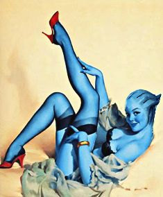 Asari Pin Up Girl <3 omigod