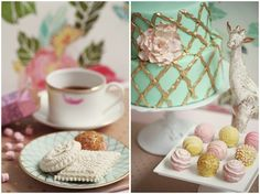 Sitting down for a late afternoon tea and a few sweet goodies... Wouldn't it be lovely? #TendMothersDay