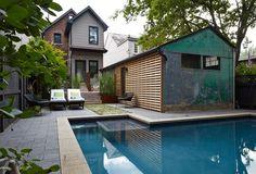Joel Loblaw - small yard with pool