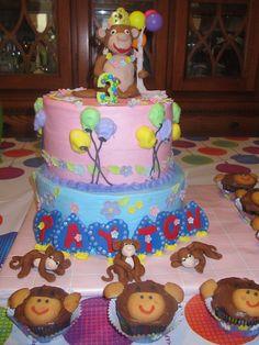 Monkey Princess cake