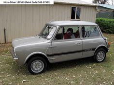 1978 Leyland Mini 1275 LS Engine bay  1978 Leyland Mini 1275 LS