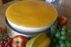 Tarta de queso y mango