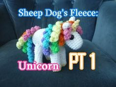Unicorn Amigurumi PT 1 - Left Handed Crochet Tutorial - YouTube