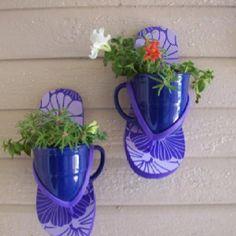 Cute garden patio idea