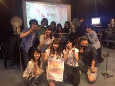 Sailor Moon seiyuu cast | Everyone of the cast after the recording and is set commemorative photo! Rice meeting also! Full laughing or is it delicious and inspiring! The favorite Mitsuishi Kotono's, of sailor warrior everyone, friendly! Thank you very much! (2015)