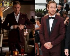 Runway To Reality: The Burgundy Suit