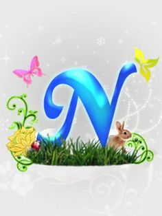 ThemeWorldcom Wallpaper  Letter N