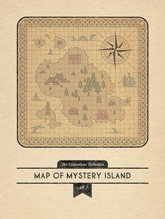 Map of Mystery Island by robbieporter, via Flickr