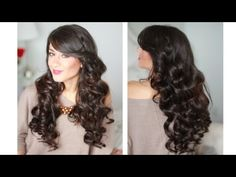 Perfect Curls for the Holidays Hair Tutorial