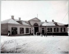 Tullhusbyggnaden vid Hornstull sedd från Brännkyrkagatan - Stockholmskällan