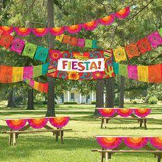 Fiesta Indoor/Outdoor Decorating Kit More