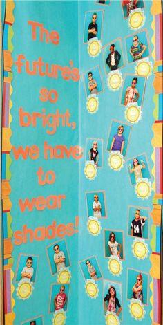 Future is bright classroom idea