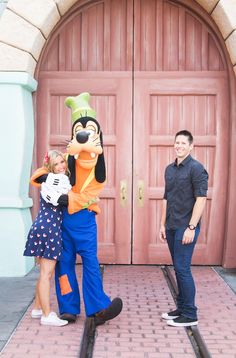 Engagement Photos at Disneyland: Leesha + Russell