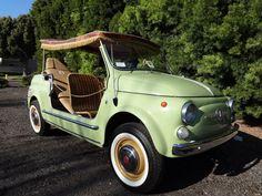 Fiat Nuova 500 Jolly Giardiniera Carrozzeria Ghia (1958-1974)