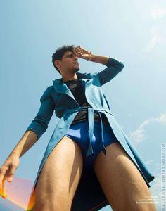 Rafael Sánchez posa a todo color para Híbrido Magazine por Luis de la Luz