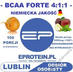 EProtein BCAA FORTE 4:1:1 500g aminokwasy PROMOCJA