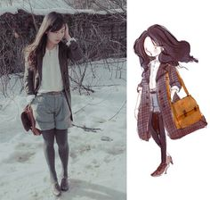 Breeze in the afternoon. (by Nancy Zhang) http://lookbook.nu/look/515179-breeze-in-the-afternoon