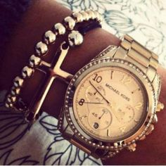 NEXT YEARS WISHLIST.  Michael Kors Watch Rose Gold