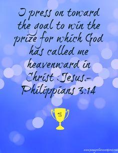Philippians 3:14 #Scripture #Bible