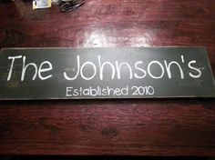 Hey, I found this really awesome Etsy listing at https://www.etsy.com/listing/183537653/custom-personalized-family-name-sign