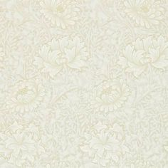 William Morris & Co Archive 2 Wallpapers Chrysanthemum Wallpaper - Chalk - 212546