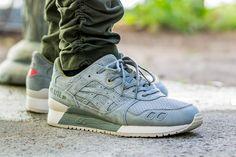 Asics Gel Lyte 3 Agave Green Perforated Pack On Feet Sneaker Review. AgavesNike  SneakersGel ...