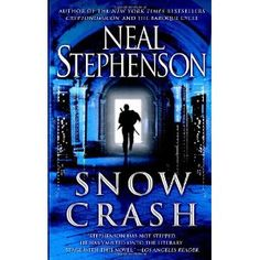 Snow Crash - Neal Stephenson    Snow Crash was the book that made playing with computers sound cool, not just interesting. Some of the things it predicted seem dated, some of them came true. Either way it's really fun ride.