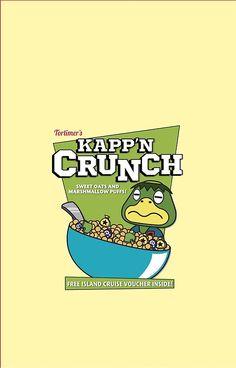 Animal crossing New Leaf Kapp'n Crunch! by ZoeTwoDots