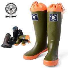 HOUSTON ヒューストン。HOUSTON ヒューストン 6516 RAIN BOOTS レインブーツ メンズ レイン ブーツ mss WIP 10P05Nov16
