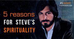 5 reasons why #SteveJobs Chose #Spirituality