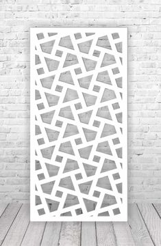 Interroom partition panel, digital vector files for laser plasma and CNC machine cutting.