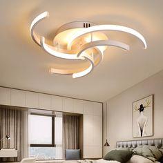 Modern Ceiling Lights for bedroom Chandelier Lighting Fixtures, Stair Lighting, Ceiling Chandelier, Dim Lighting, Bedroom Lighting, Living Room Light Fixtures, Chandelier In Living Room, Modern Light Fixtures, Living Room Bedroom