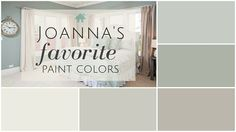 I've done the research and discovered Joanna's five favorite Fixer Upper paint colors. See if your favorites made the list!