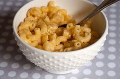 home made mac and cheese. Mmmmmm.... so much better than out of the box.