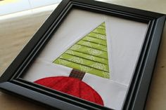 Sew Lux Fabric and Gifts Blog: Tutorial: Textured Tree with Pleats - what a cute Christmas idea! Embellish with buttons, etc for ornaments. Could use as a quilt block, end of a table runner, etc.