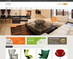 Decor Opencart Template liefert Ihnen alles was Sie für elegantes Interieur, Möbel-Webseiten und brillante Warenkorb-Lösungen benötigen. Dieses Template hat ein besonderes Design und verblüfft mit seinem magischen Look. Es vermittelt Leidenschaft und Perfektion für Ihren Web-Auftritt. mehr auf: http://onshop.de/portfolio-items/decor/