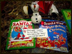 Day 9:  Olaf and Nana have special christmas books for the boys