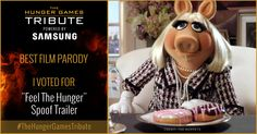 "I voted for ""Feel The Hunger"" Spoof Trailer as Tribute for The Hunger Games Tribute Awards #TheHungerGamesTribute  tribute.thehungergames.movie"