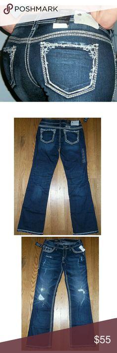 New SILVER JEANS Suki Mid Rise Boot cut 28x33 New SILVER JEANS Suki Mid Rise Boot cut 28x33 Silver Jeans Jeans Boot Cut