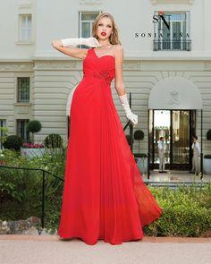 Vestidos de Fiesta, Vestidos de madrina, Vestidos para boda, Vestidos de Coctel 2016. Colección Primavera Verano Completa 2016. Sonia Peña - Ref. 1160086