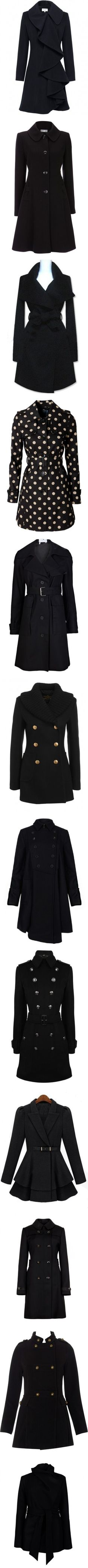 "One of each please..""Coats"" by antemore-765 ❤ liked on Polyvore"