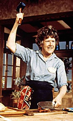 You've seen Julie & Julia as well as Dan Aykroyd's famous Julia Child sketch on SNL, but have you ever actually watched Julia Child's cooking show The See Julie, Baker And Cook, Good People, Amazing People, Children Sketch, Cooking Photos, Gina Lollobrigida, James Beard, Field Day